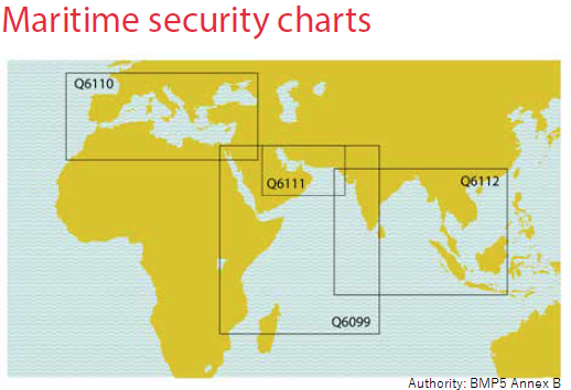 Maritime security charts (from BMP5 Annex B)